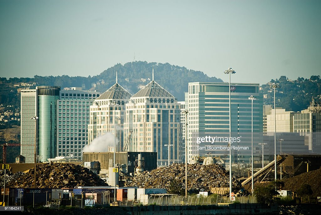 Downtown Oakland : Stock Photo