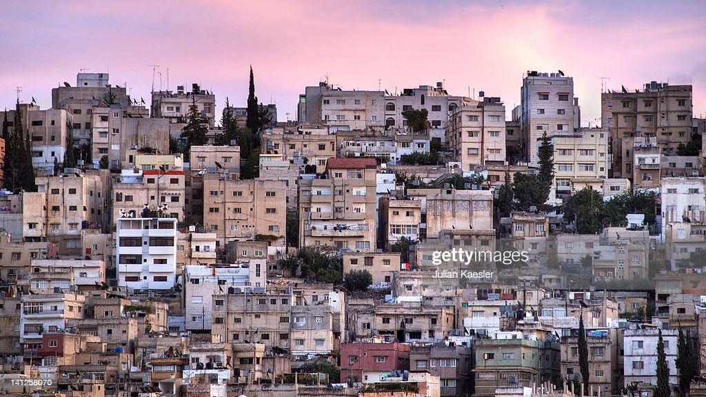 Downtown of Amman : Stock Photo