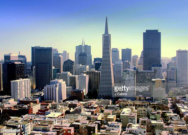 Downtown of San Francisco