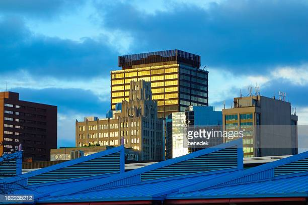 Downtown Office Buildings in Hamilton Ontario Canada
