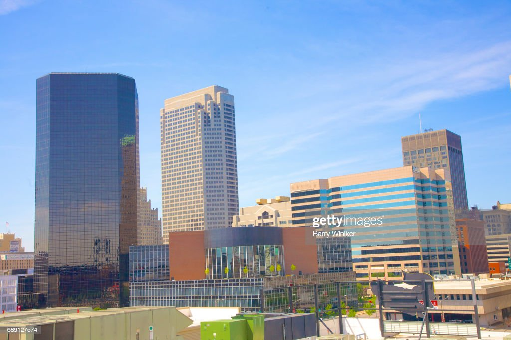 Downtown office buildings, St. Louis : Stock Photo