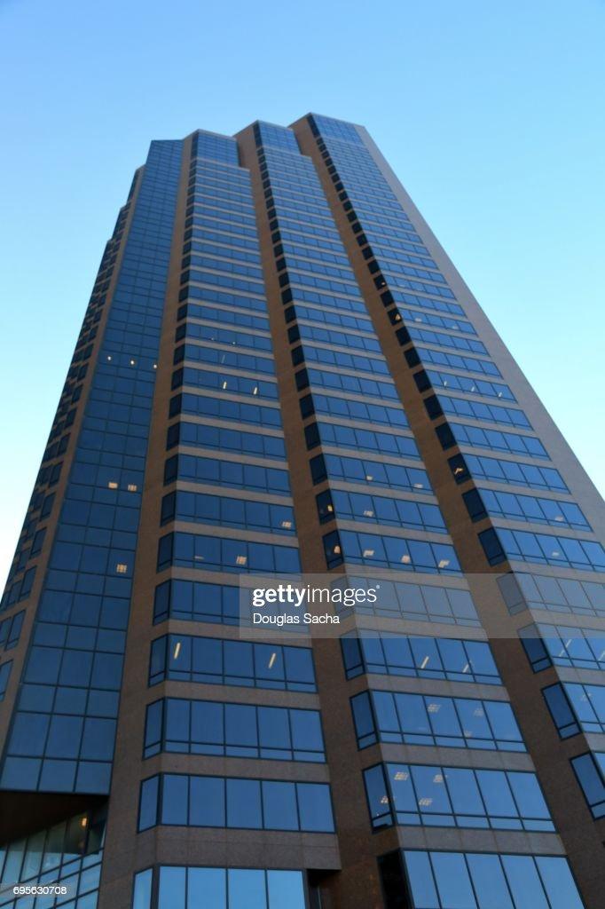 Downtown Office Tower, Wells Fargo Place, Saint Paul, Minnesota, USA : Stock Photo