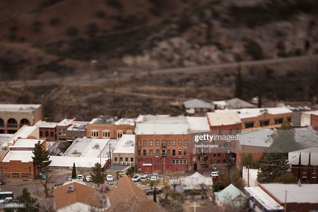Downtown Old Bisbee : Stock Photo