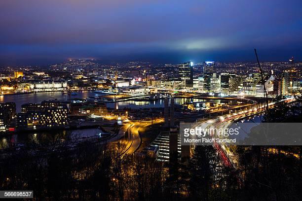 Downtown Oslo