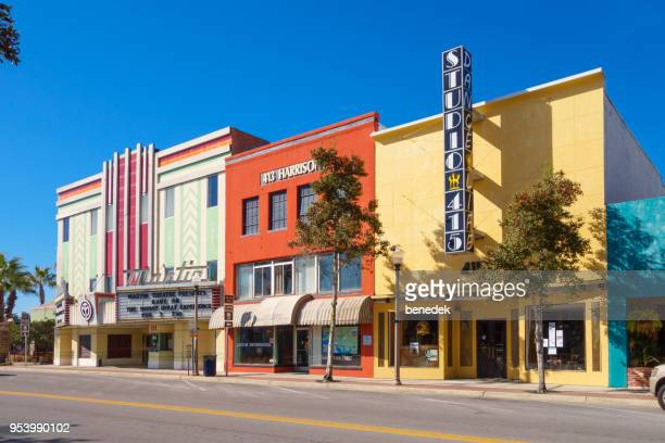 downtown panama city florida - panama city beach stock pictures, royalty-free photos & images