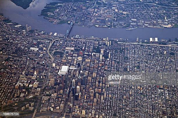 Downtown Philly and the Benjamin Franklin Bridge