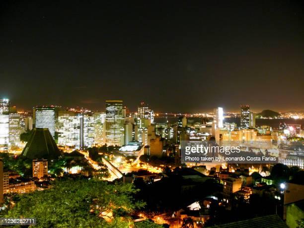 downtown - leonardo costa farias stock pictures, royalty-free photos & images