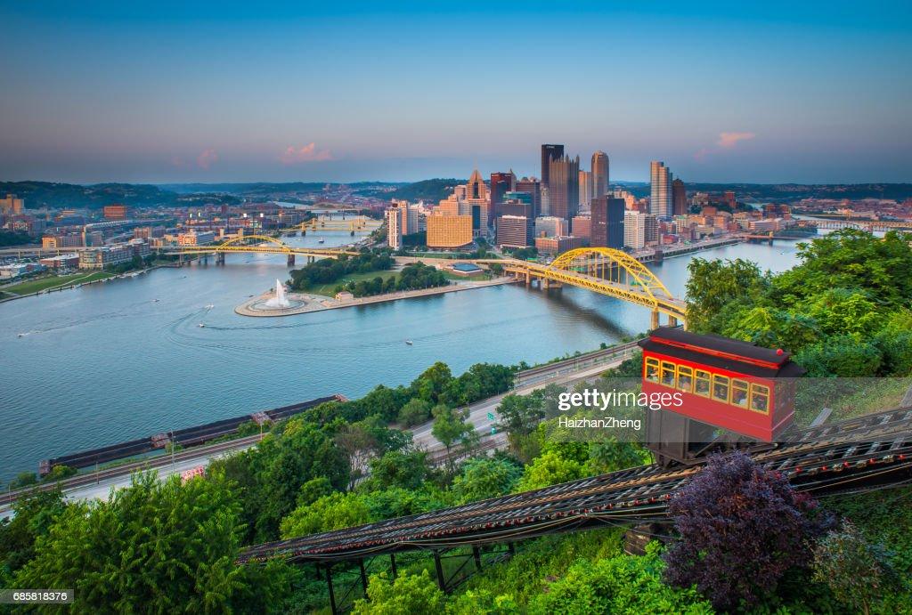 Downtown Pittsburgh, Pennsylvania : Stock Photo