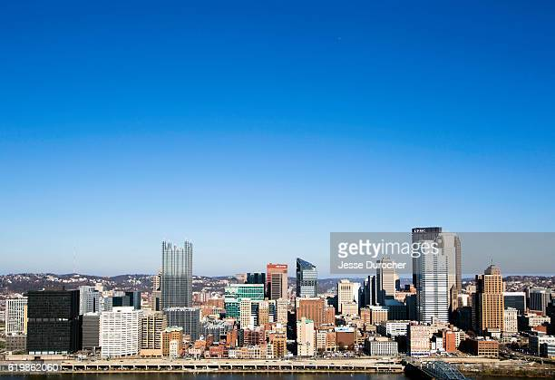 downtown pittsburgh - pittsburgh stock pictures, royalty-free photos & images