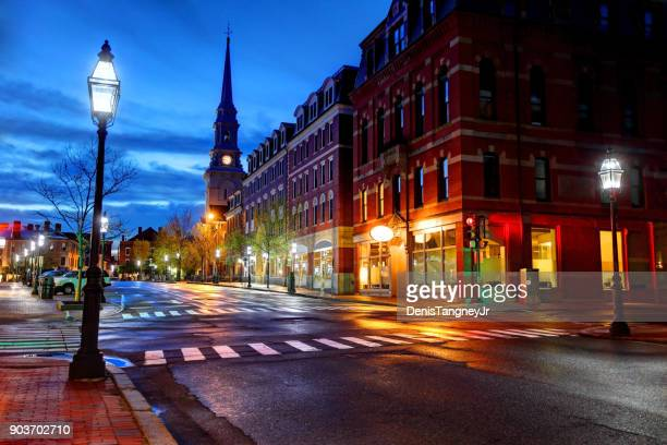 Downtown Portsmouth, New Hampshire