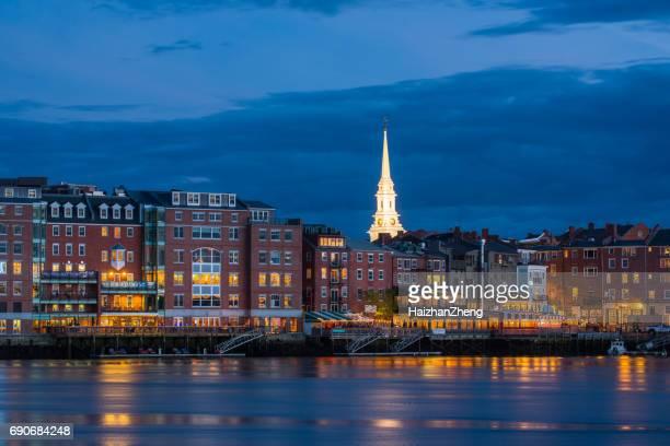 Downtown Portsmouth skyline