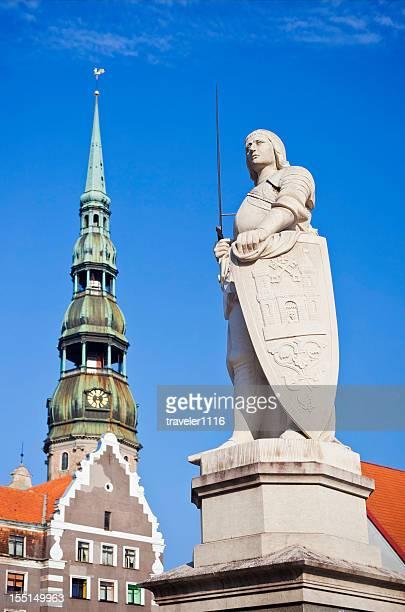 innenstadt von riga, lettland - lettland stock-fotos und bilder