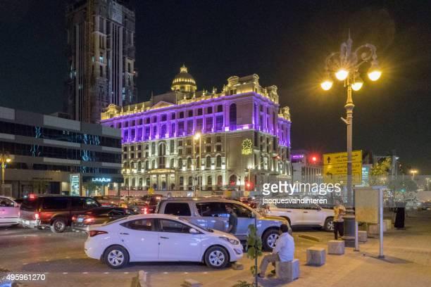 Downtown Riyadh, Saudi Arabia, by night
