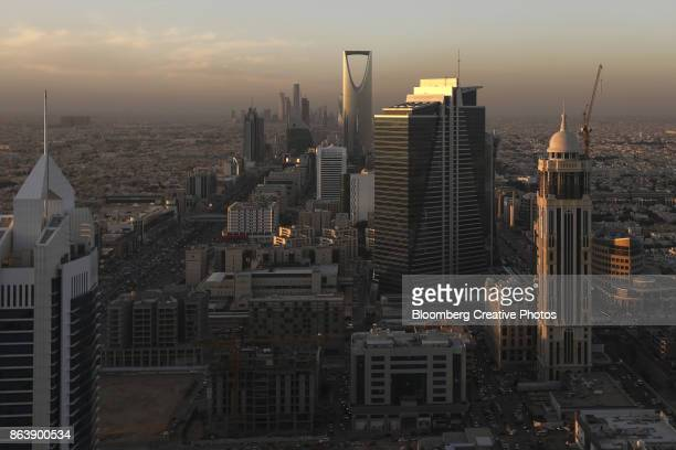 downtown riyadh, saudi arabia - riyadh stock pictures, royalty-free photos & images
