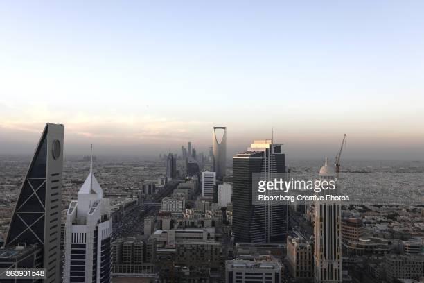 downtown riyadh, saudi arabia - riyadh - fotografias e filmes do acervo