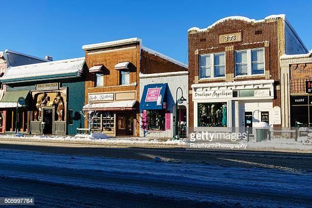 Downtown Rochester, Michigan in Winter