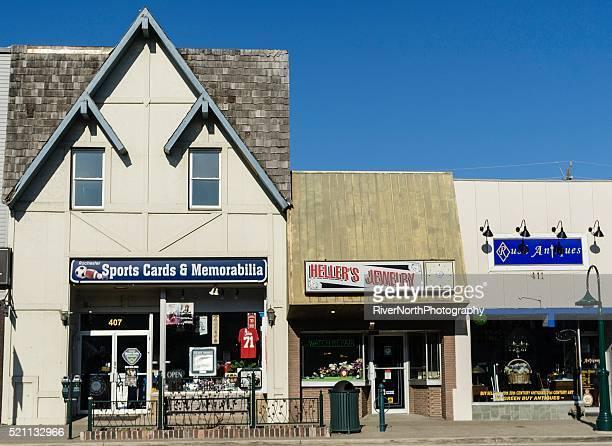 Centre-ville de Rochester, dans le Michigan