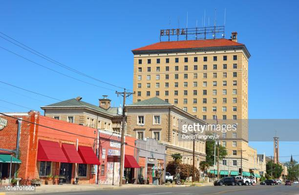 downtown san angelo, texas - san angelo texas stock pictures, royalty-free photos & images