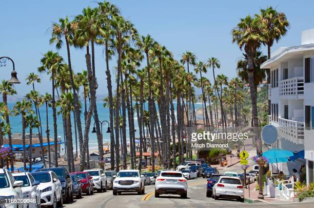 downtown san clemente - san clemente california stock pictures, royalty-free photos & images
