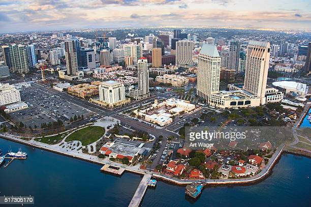 Downtown San Diego Urban Cityscape and Waterfront