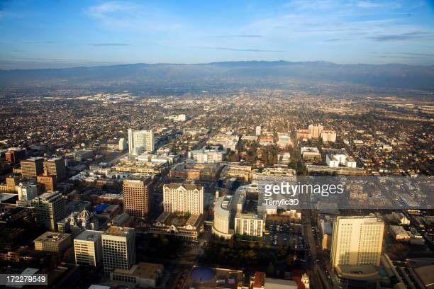Downtown San Jose, California in Silicon Valley