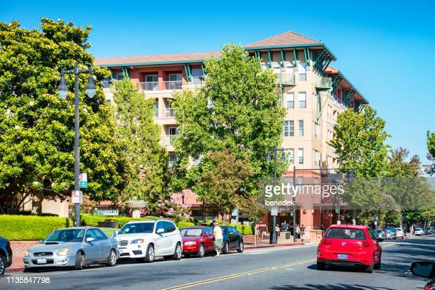 downtown san rafael california usa - san rafael california stock pictures, royalty-free photos & images