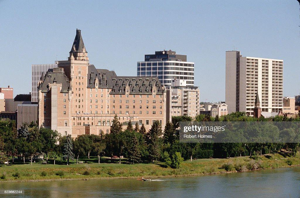 Downtown Saskatoon : Stock Photo