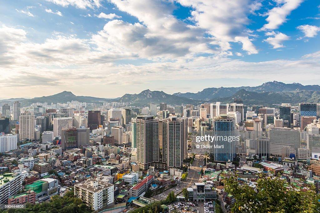 Downtown Seoul : Stock Photo