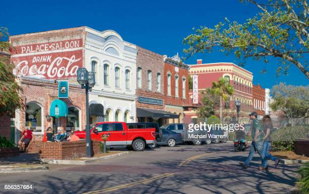 Downtown Shops on Fernandina Beach, Florida