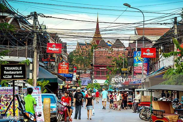 Downtown Siem Reap, Cambodia