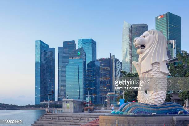 downtown singapore - singapore city stock pictures, royalty-free photos & images