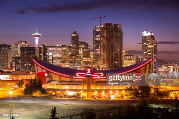 Downtown skyline Calgary Alberta Canada