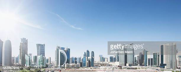 Downtown skyline, Doha, Qatar