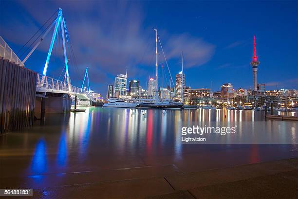 Downtown Skyline in Auckland, New Zealand
