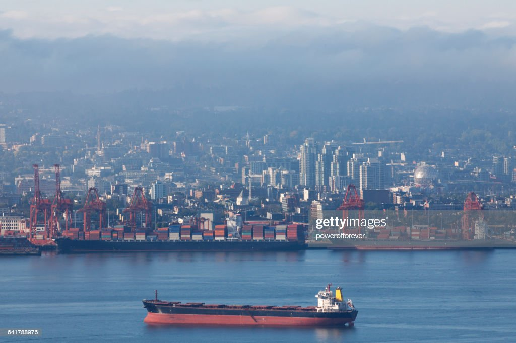 Downtown Skyline of Vancouver, British Columbia, Canada : Stock Photo