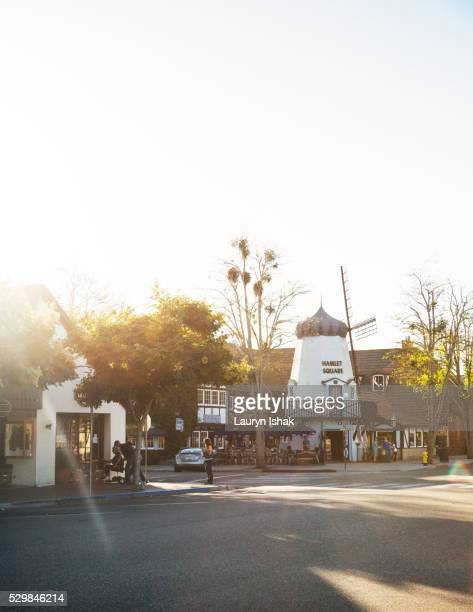 Downtown Solvang, California