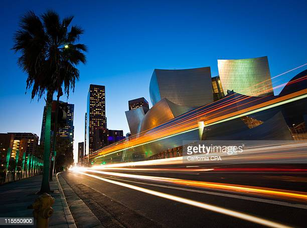 downtown speedway, los angeles - cbd stock photos and pictures