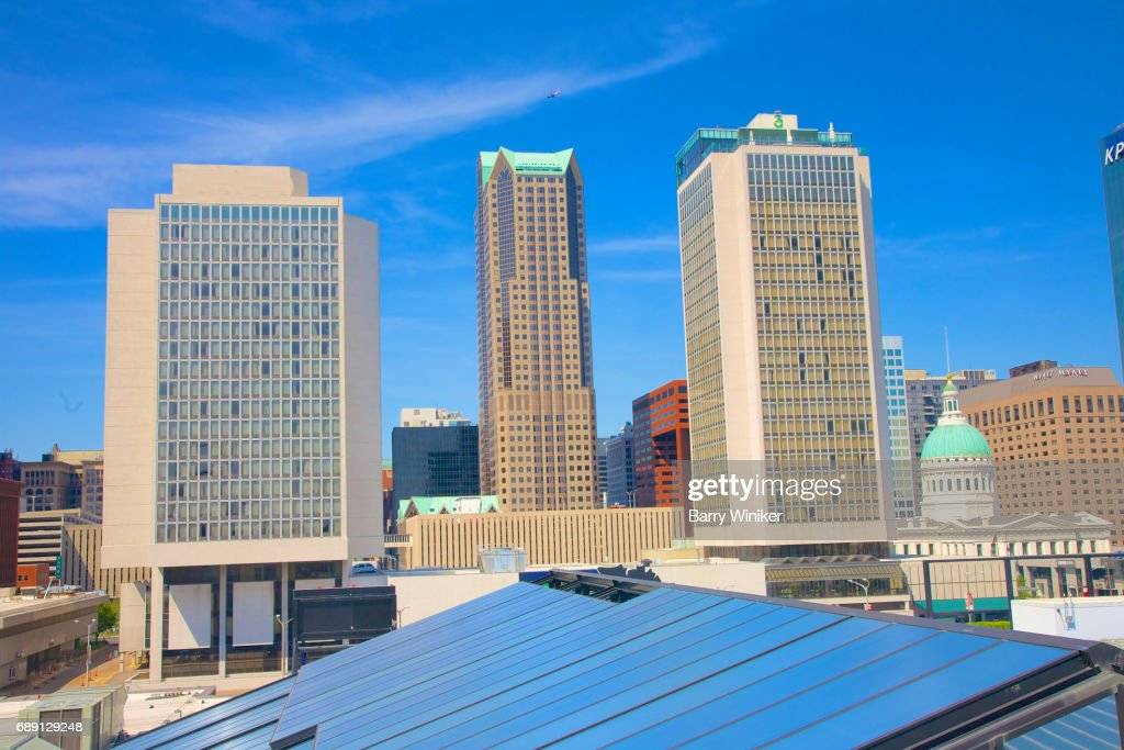 Downtown St. Louis towers : Stock Photo