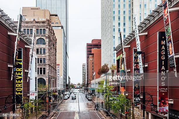 Downtown streets. Denver, Colorado.