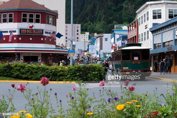 Downtown Streets of Juneau S Franklin street