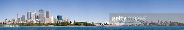 Downtown Sydney City Skyline in Australia