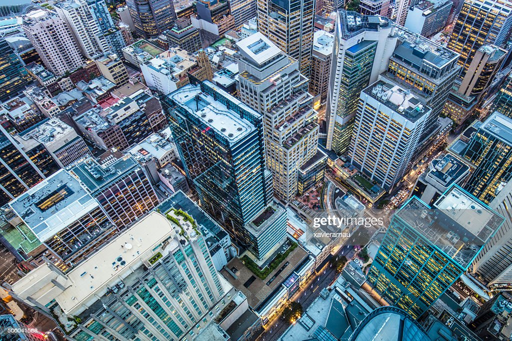 Downtown Sydney : Stock Photo