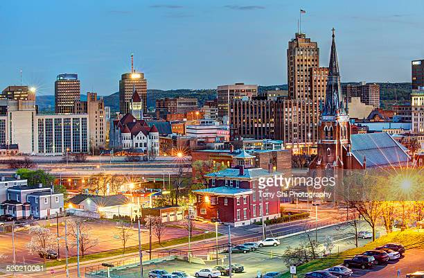 downtown syracuse - syracuse new york stock pictures, royalty-free photos & images