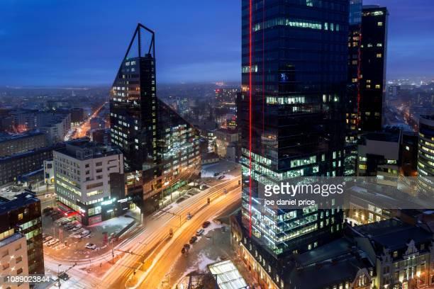 downtown, tallinn. estonia - tallinn stock pictures, royalty-free photos & images
