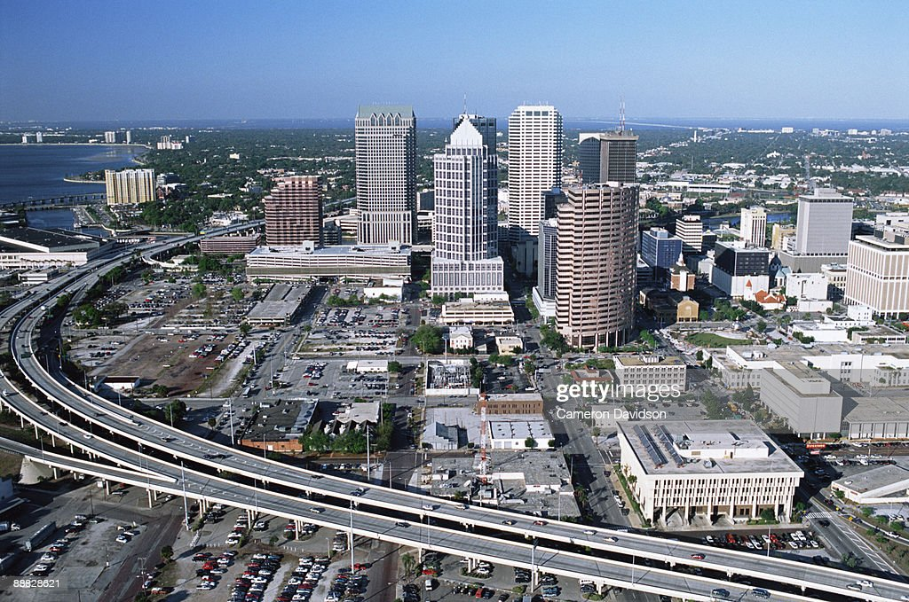 Downtown Tampa Florida Stock Photo Getty Images