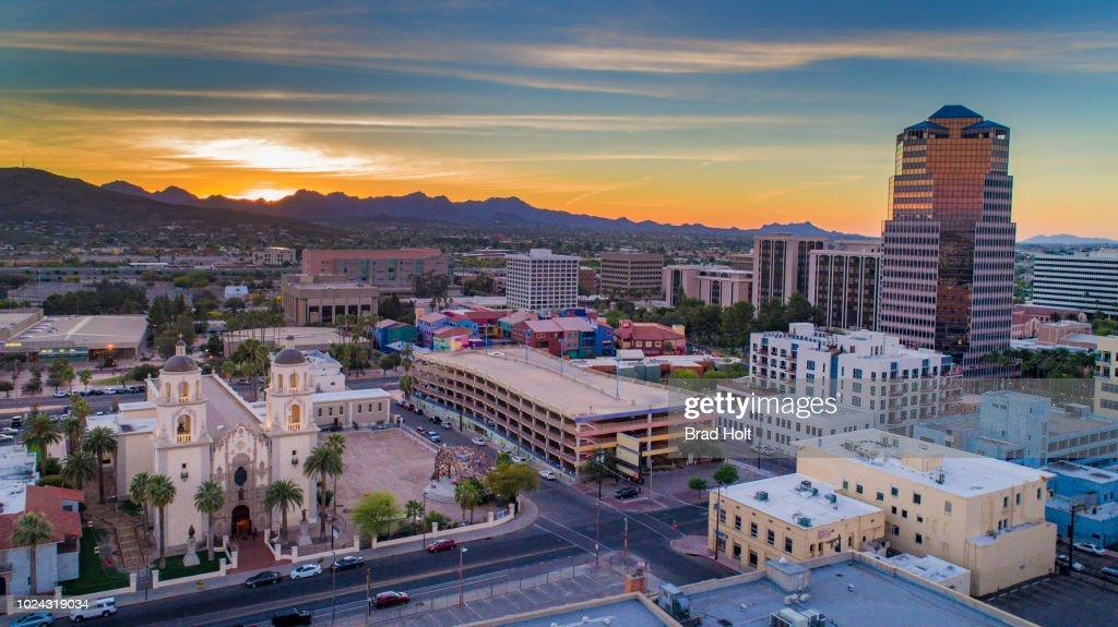 Downtown Tucson : Stock Photo