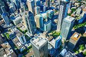 Downtown Urban Aerial