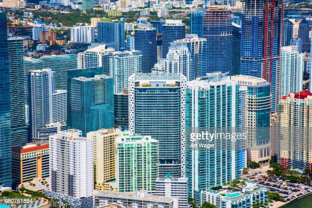 Downtown Urban Background of Miami Florida
