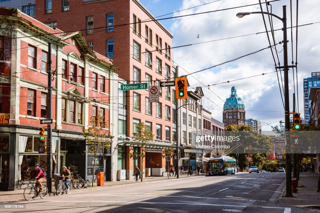Downtown Vancouver, British Columbia, Canada : Stock-Foto