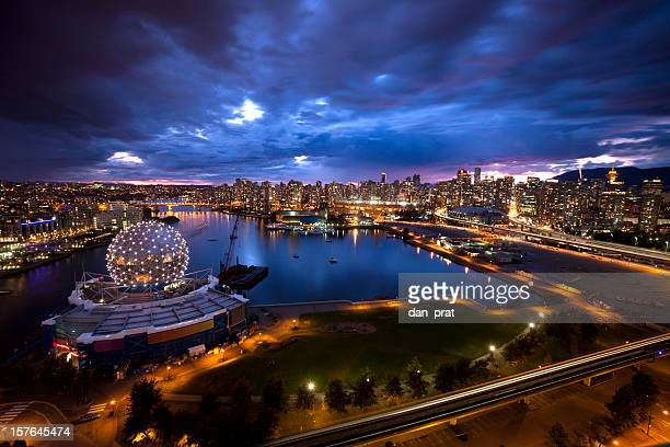 downtown vancouver - dome stock pictures, royalty-free photos & images